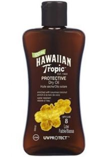 HAWAIIAN TROPIC Olio OIL - 100ml FPS 8